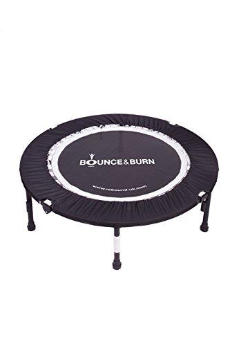 Bounce & Burn Mini Trampolin - Bestseller - FIT werden auf erschwingliche und vergnügliche Art! Inklusive DVD.