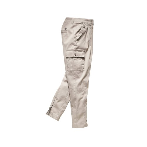 Timezone Damen Hose Niedriger Bund, Allegra cargo pants 16-0069 Beige (grey  beige