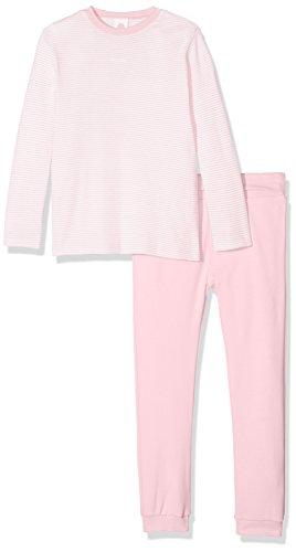 Sanetta Baby-Mädchen Zweiteiliger Schlafanzug Pyjama Long, Pink (Magnolie 3609.0), 74