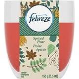 Febreze Kerze, Spiced Pear, 5.5oz