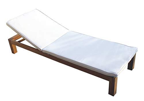 vanvilla Sonnenliege Gartenliege Holz Relaxliege Liegestuhl BALIMO
