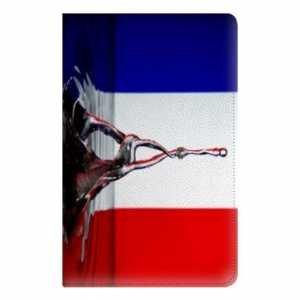 Preisvergleich Produktbild Leather flip Case schale Ipad Pro 9.7 french - eau B