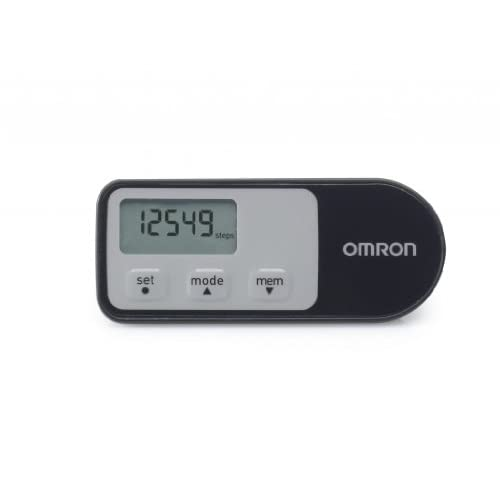 Omron Walking Style One 2.1 Pedometer – Black/Grey
