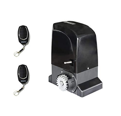 Kit Motor Schieber Beanspruchung MOTORLINE Slide 800kg, für Türen und Automatisieren cancelas Schienen-Verwendung residencial, Parking Garage, Garage, hochwertig mit 2Controller Sicherheit