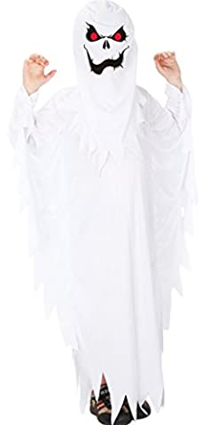 GIFT TOWER Costume Démon Fantôme Diable Enfant Fille Garçon Pour 4-12ans Déguisement Halloween Cosplay
