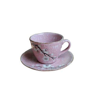LOYWT tazas de café de cerámica profesionales pintadas a mano, tazas, estilo japonés personalizado que restaura maneras antiguas, B