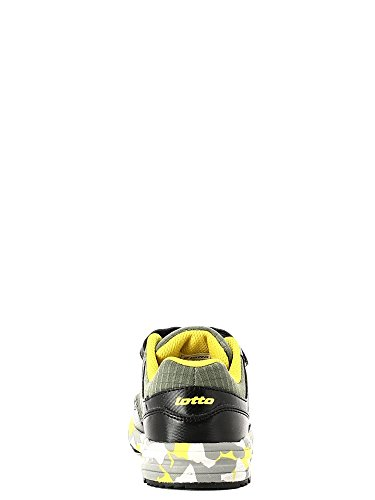 Lotto Strada Ii Cl Sl, Chaussures de Sport Mixte Bébé Noir - Negro (Thm / Blk)