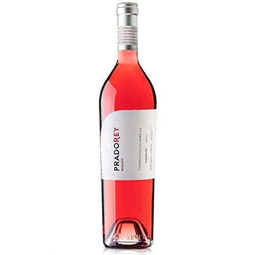 Pradorey Rosado - Vino Rosado - Fermentado En Barrica - Ribera Del Duero - 50% Merlot, 50% Tempranillo - 3 Meses De Barrica - 1 Botella - 0,75 L