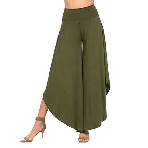 Oliviavane Pantalon Large Femme Ete Pants Women LA Mode Plage Chic Belle Ample Léger Jegging Femme Grande Taille Jean Slim Hommes Pantyhose Tights