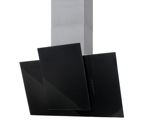 Nodor Nostrum 700 black Zwischenbauhaube / 70 cm/Touch Control Sensortasten/schwarz