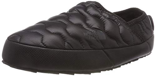 THE NORTH FACE Damen Thermoball Traction Iv Pantoletten, Schwarz (Shiny TNF Black/Beluga Grey Ywy), 41 EU