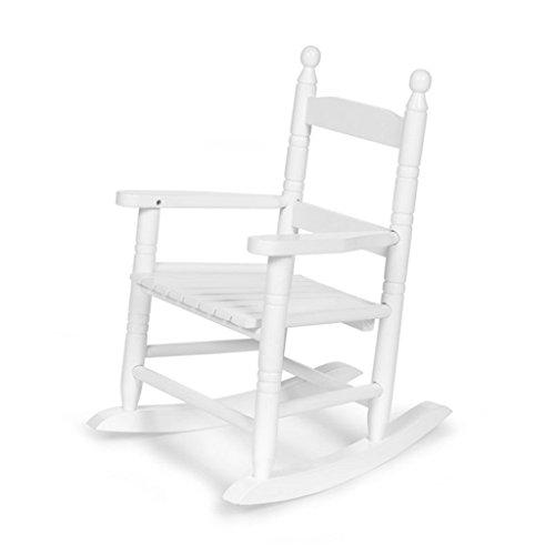 Chaise à bascule pour enfant - blanc