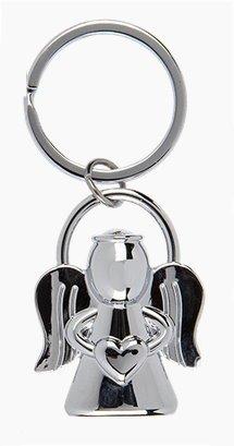 Ángel de la guarda llavero de ángel con corazón como amuleto de la suerte y como coche Ángel
