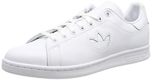 newest 25345 e742d adidas Stan Smith, Zapatillas de Gimnasia para Hombre, Blanco FTWR White,  45 EU