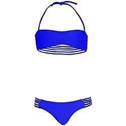 Mon Mini Teenie Bikini bleu roi fille - 8 ans