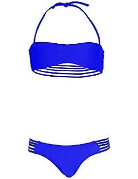 Mon Mini Teenie Bikini Set für Mädchen in Königsblau