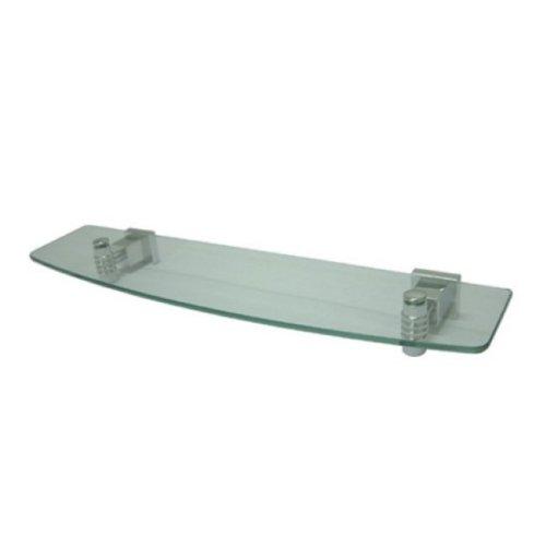 Kingston Messing Festung Glas Regal, poliertes chrom, 19-5/8 inch Length -