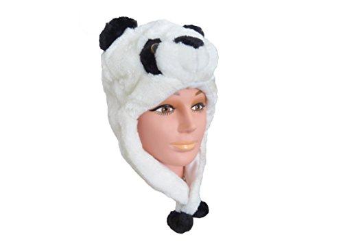 ütze Panda (Dachs Kostüme)