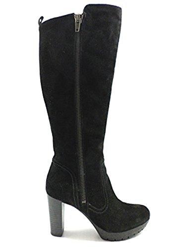 CARMENS stivali donna camoscio nero (35 EU)