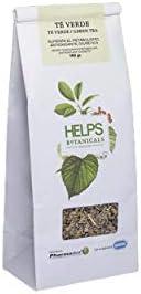 HELPS INFUSIONES - Té Verde A Granel 100% Natural. Infusión Diurética, Antioxidante, Quemagrasas. Bolsa A Gran