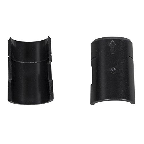 akro-mils awclip4pk Kunststoff Locking Post Clip für Chrom Draht Regal System, 4er Pack - Chrom-draht-regal