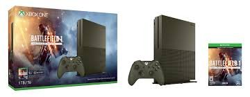Microsoft - Xbox One S 1TB (1 TB) Battlefield 1 Special Edition Console Bundle - Military Gree