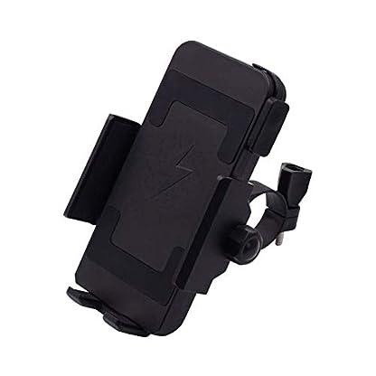 32V-Motorrad-Handyhalter-mit-kabellosem-Ladegert-10W-Universal-GPS-Gertehalter-fr-Fahrrad-Mountainbike-Motorrad-360–drehbar