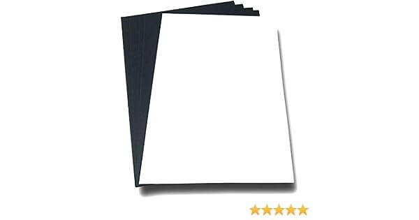 Carta fotografica A4 210 x 297 mm magnetica ed etichetta magnetica bianca satinata per stampante a getto dinchiostro e laser