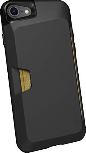 Silk Apple iPhone 8 / 7 Wallet Hülle - Q Kreditkartentasche [Schlanke Schutztasche mit Kickstand | Grip Cover] -