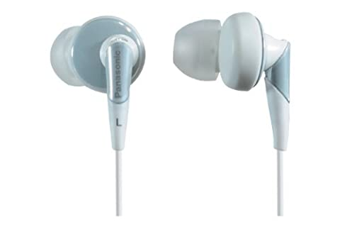 Panasonic RP-HJE450E-W Ergo Fit Ear Canal Headphones - White