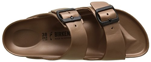 Birkenstock Arizona, Sandali Donna Marron (metallic Copper)