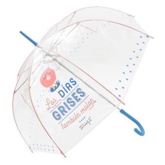Paraguas automático mr wonderful transparente modelos surtidos