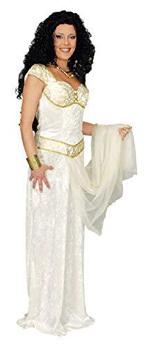 narrenkiste K31250527-44-46-A weiß Damen Römerin Griechen Kleid Gr.44-46