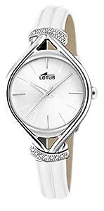 Lotus Reloj Analógico para Mujer de Cuarzo con Correa en Cuero 18399/1