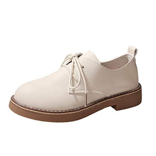 Bottes de Neige,Subfamily Femme Chaussons Hiver Bottines Plates Chaussures à Lacets Bottes Classiques Chaussures de Ville Mixte Adulte