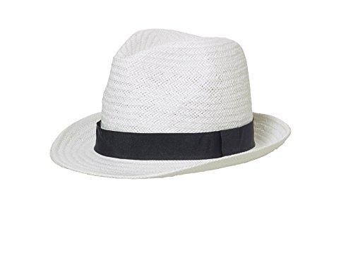 Myrtle Beach Unisex Baseball Cap Urban Hat Weiß (White/Black) Small (Herstellergröße: S/M) White Beach Hut