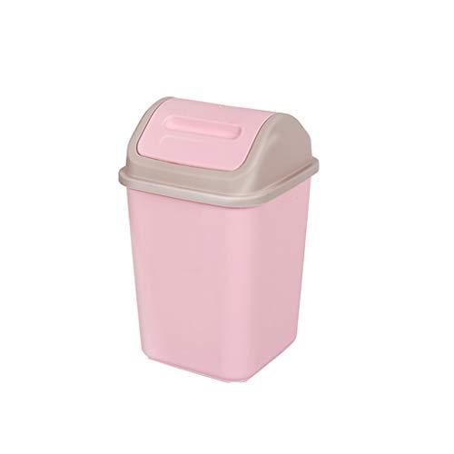JJSP Umweltfreundlicher tragbarer Mülleimer Große Kapazität Haushaltsmülleimer Wohnzimmer Badezimmer Mülleimer