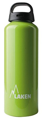 Botella Classic de Laken con tapón de rosca, anillo y boca ancha 0,75 L Verde Manzana