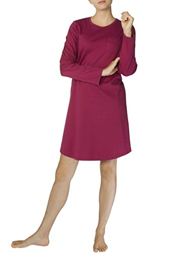 Calida Damen Nachthemd Naomi Red Plum