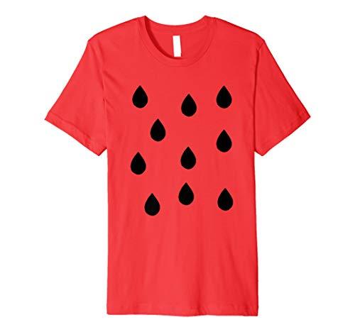 Wassermelone Kostüm - Wassermelone Karneval Kostüm Shirt Frucht Verkleidung