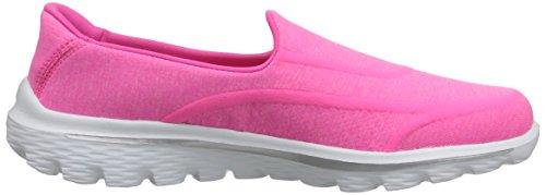 Skechers Gowalk 2 Supersock, Baskets mode femme Hot Pink 2