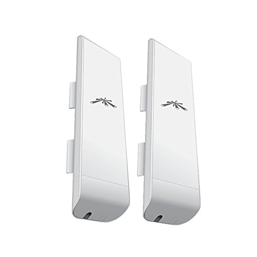 2x NanoStation M2: NSM2 2,4GHz HiPower 2x2 MIMO Station (UBNT),