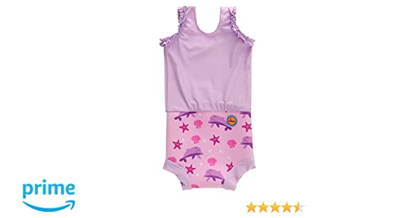12-24 Months, Pink Dolphin Swimbubs Baby Swimming Nappy Kids Reusable Swim Diaper Girls Costume Boys Swimshorts