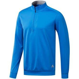 adidas Herren mädchen Pullover Classic Club 1/4 Zip Sweatshirt, Schwarz (Negro Dq2292), Small