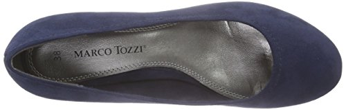 Marco Tozzi22302 - Scarpe con Tacco Donna Blu (Blu (Navy 805))