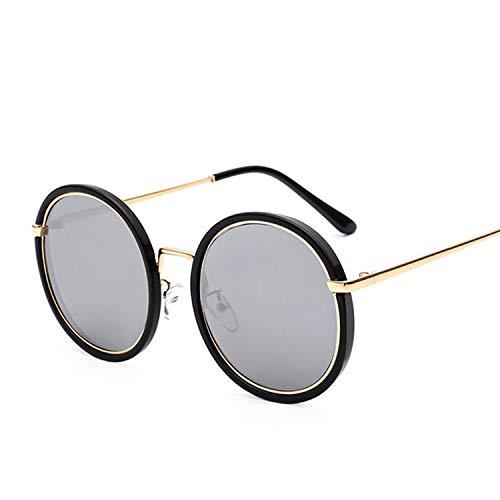 It's-ok Round Framed Sunglasses Women Men Retro Punk Steam Sunglasses UV400 Lens Sunglasses With Glassses Box,TU00702