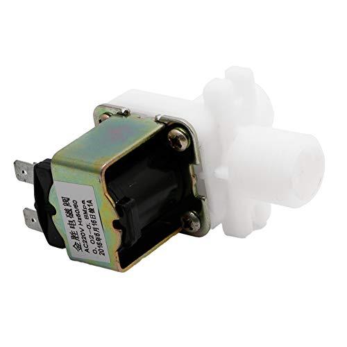LANDUM AC 220 V Elektromagnetventil Magnetisch N/C Wasser Luft Einlass Durchfluss 1/2