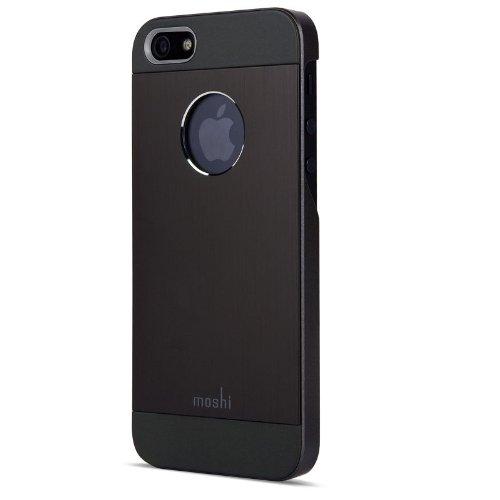 Moshi iGlaze Armour Cover für Apple iPhone 5/5s/SE schwarz - I Moshi Phone 5
