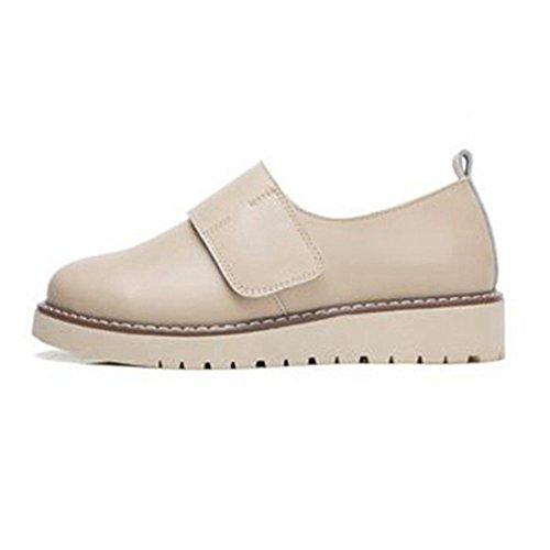 ... Beige Casual Mocassins Jrenok Femme Marcher De Plateforme Derbies 35 Mode  Chaussures Baskets Sneakers Ville Confortable ... 17934c60d10f