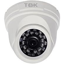 Cámara híbrida TBK MD5541IR minidomo 1080p 24 Led y óptica de 3.6mm.